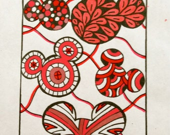 Mickey Mouse Bookmarks to Color - Zentangle Coloring Page - Disney - Digital Download, Kids Activity, Children's Bookmarks