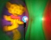 Grateful Dead Head Dancing Bear Steal Ur Face Painted MoodLight Bulb/NightLight/Projection Lamp/Mood Lightt/Festival Light/Jerry Garcia