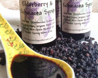 Elderberry and Echinacea Syrup