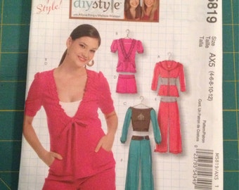 McCall's Women's loungewear, casual wear Pattern #M5819