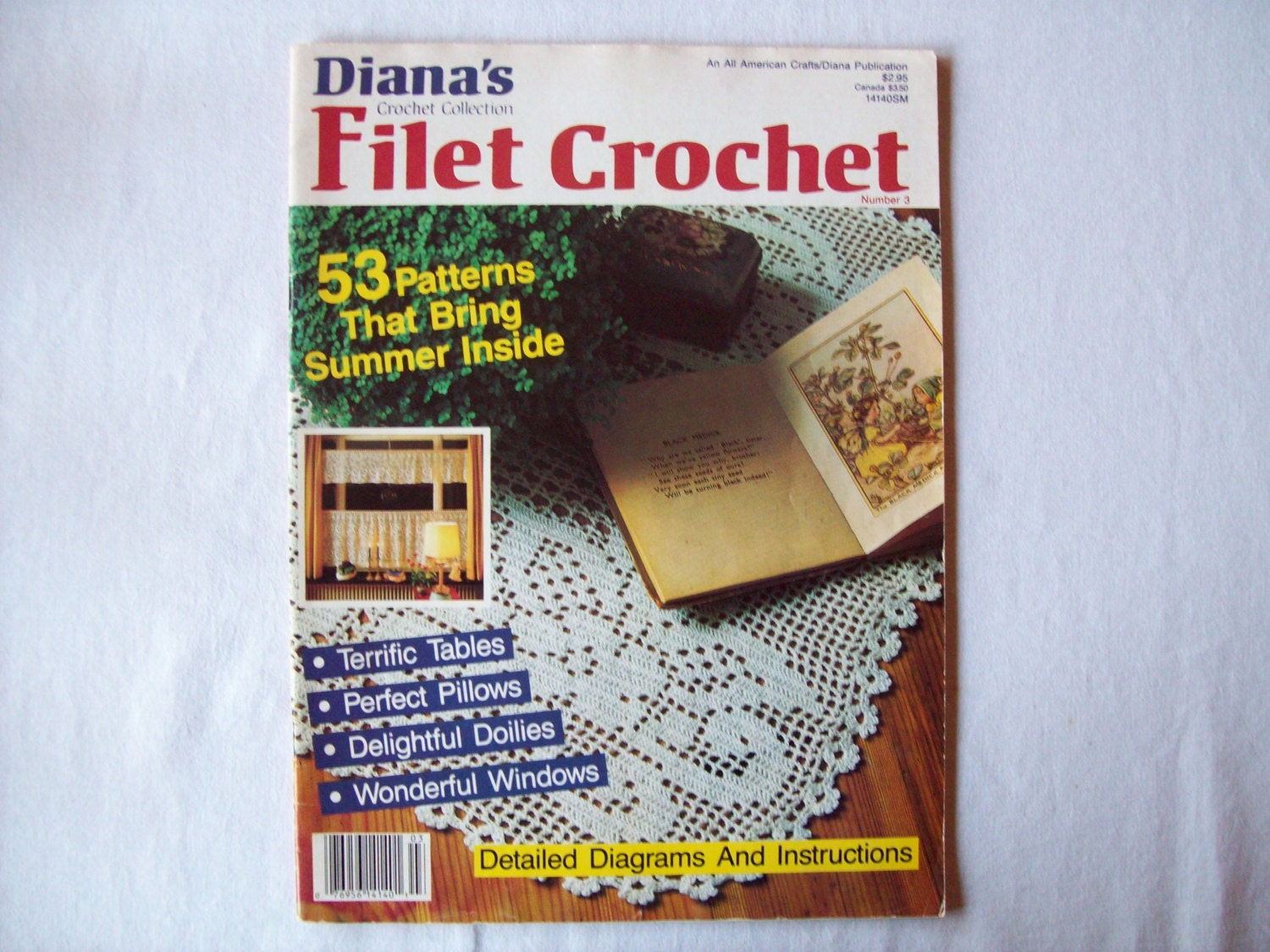 Filet Crochet Name Pattern Book