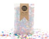 Tiny Rainbow Party Confetti / 1/2 oz Bag