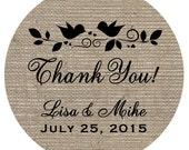Lovebird Wedding Sticker Wedding Favor Tags Bridal Shower Stickers Bridal Shower Favor Stickers