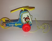 Vintage 1970 Fisher Price Mini Copter