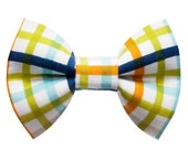 "Cat Bow Tie - ""The Head of the Class"" -  Plaid"