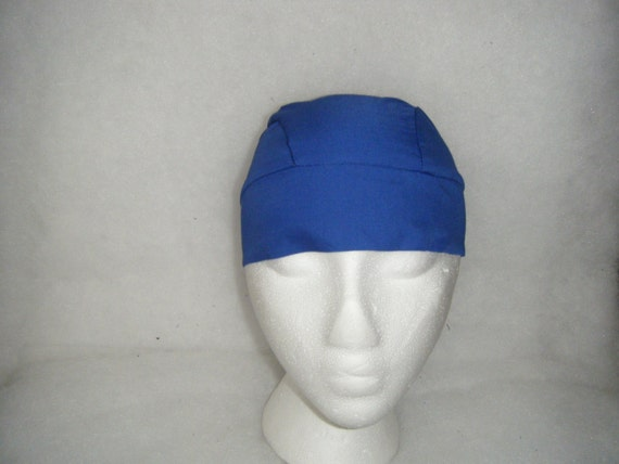 Royal Blue Skull Cap Or Chemo Cap Hair Loss By