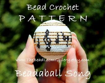 Beadaball Four-Note Song - Crochet PDF File TUTORIAL - Vol.2
