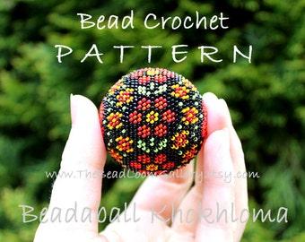 Beadaball Khokhloma - Crochet PDF File TUTORIAL - Beadaball Vol.10