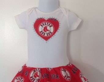 Boston Red Sox Inspired Dress