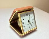 Vintage Alarm Clock Westclock Travel Alarm Retro Bedroom