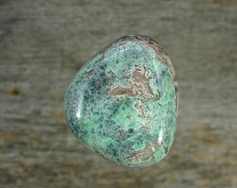 Turquoise cabochon Candelaria mine,  A-113