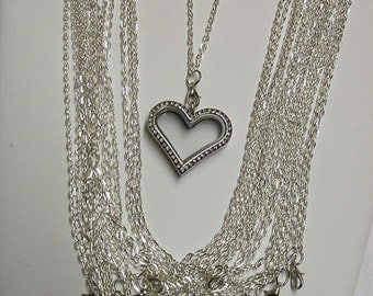 """24"""" Link Chain For Floating Locket"""
