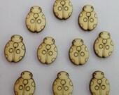 Ladybug - Use for earring stud - EAR026