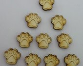 Paws - Use for earring stud - EAR040