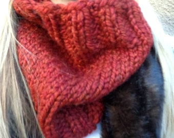 Chunky Cowl, Cowl, Ribbed Cowl, Over-sized Cowl, Chunky, Rib, Knit Cowl, Knit, Unisex, Birdy27