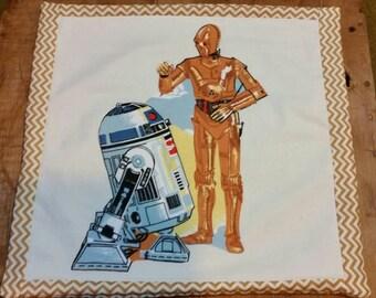 Vintage Star Wars throw pillow set
