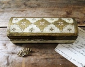 Vintage Gold Florentine Box
