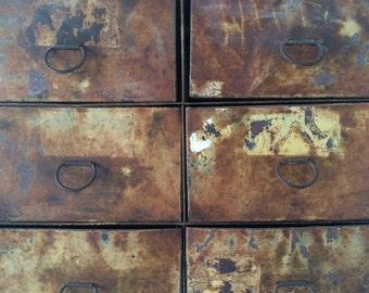 Industrial Vintage Display Case