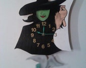 Wicked Broadway's Musical Smash Pendulum Collectors Clock