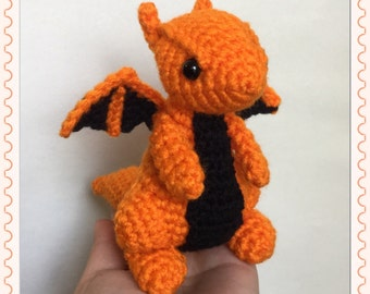 Amaze-ing Dragon (Choose Your Own Colours!) - Made to Order