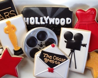 Movie Award Show Sugar Cookie Collection
