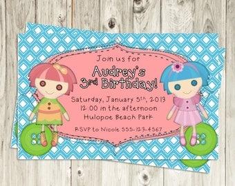 Sew-Sweet Birthday Invitation