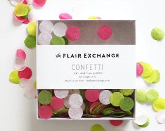 Hand-Cut Confetti - Preppy