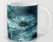 Artistic Floral Coffee Mug - Dandelion Wishes - Kitchen Decor 11oz Mug