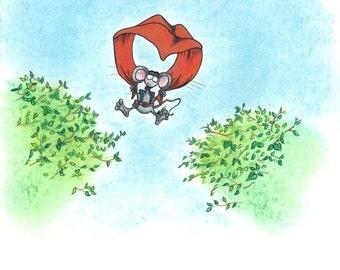 Parachute Mouse