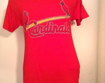 SALE Vintage St Louis Cardinals Tshirt