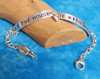 May the Horse Be With You Bracelet