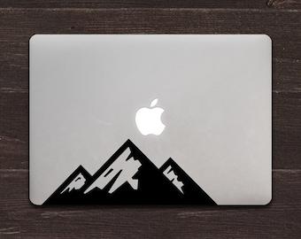 Mountains Vinyl MacBook Decal BAS-0209