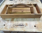 Tool Tote with carved handle
