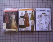 Historical Costume Pattern Destash NEW and UNCUT
