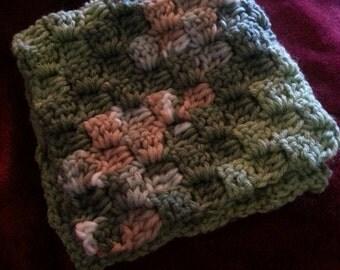 Crochet baby snuggie
