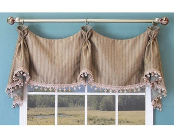 Custom nightingale valance