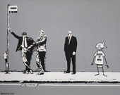 Banksy Print  - Keep it Real - Multiple Paper Sizes