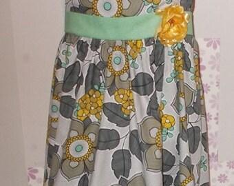 Girl's Vintage Dress - Size 6