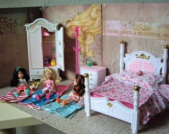 Barbie, Chelsea Doll and her Friends Playset, Vignette