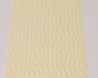 10 Evergreen Embossed Cardstocks - Choose your color
