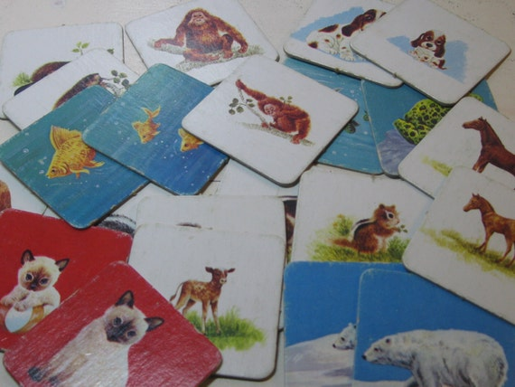 Memory game cards for adult