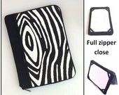 personalized HARD case- ipad case/ kindle case/ nook case / samsung case/ others - full zipper close - bark