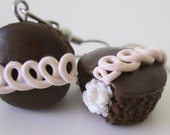 Hostess Cupcake Earrings