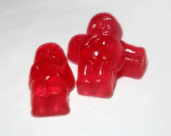 Strawberry Jelly Baby soaps