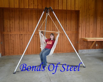 Bonds of Steel Portable Suspension Tripod BDSM Medium Model New Feet Mature