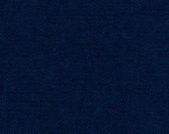 Fabric Finders Navy Solid Twill