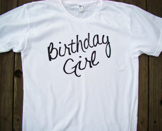 Dnxvvyutml Birthday Girl Shirt Adult Tee Shirts For Adults