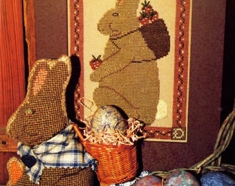 Mr. Hare~Cross Stitch Pattern