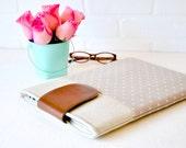 Laptop Case 13 inch, Macbook Pro 13 Case, Polka Dots, Macbook Retina Case,  13 Macbook Sleeve,  13 Macbook Air Case
