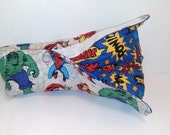Infant Car Seat ARM PAD, Handle Cover Wrap, Reversible - Avengers Super Hero